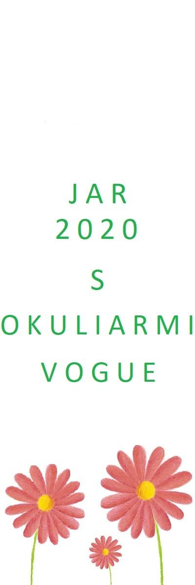 Jar 2020 s okuliarmi Vogue